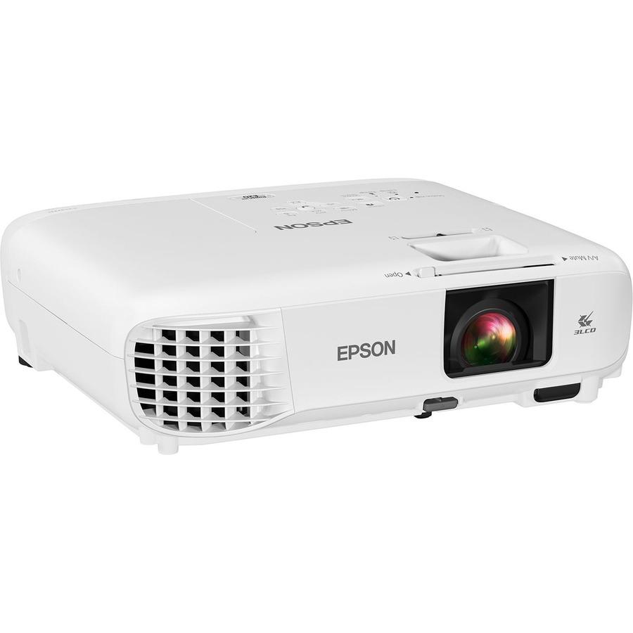 Epson PowerLite E20 LCD Projector - 4:3 - White_subImage_5
