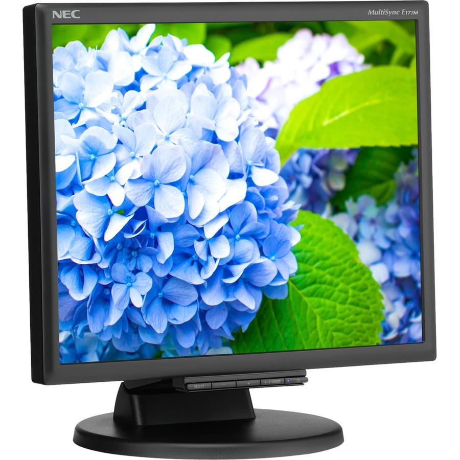 """NEC Display E172M-BK 17"""" SXGA LED LCD Monitor - 5:4 - Black_subImage_3"""