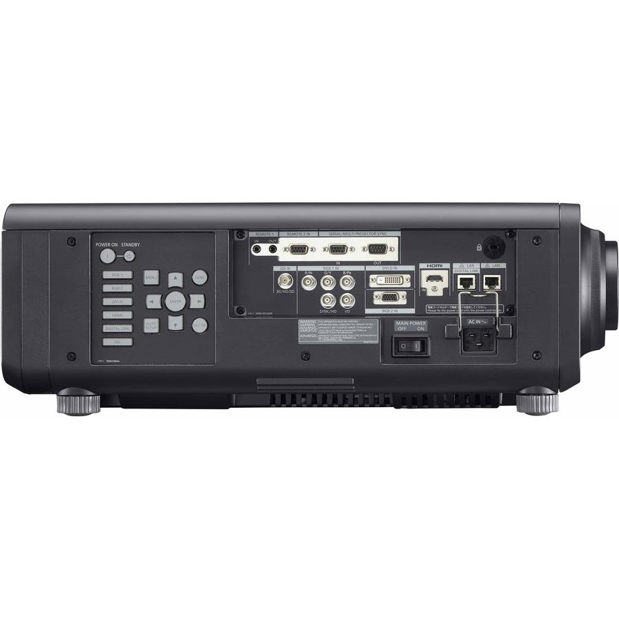 Panasonic SOLID SHINE PT-RZ120 DLP Projector - 16:10 - Black_subImage_4