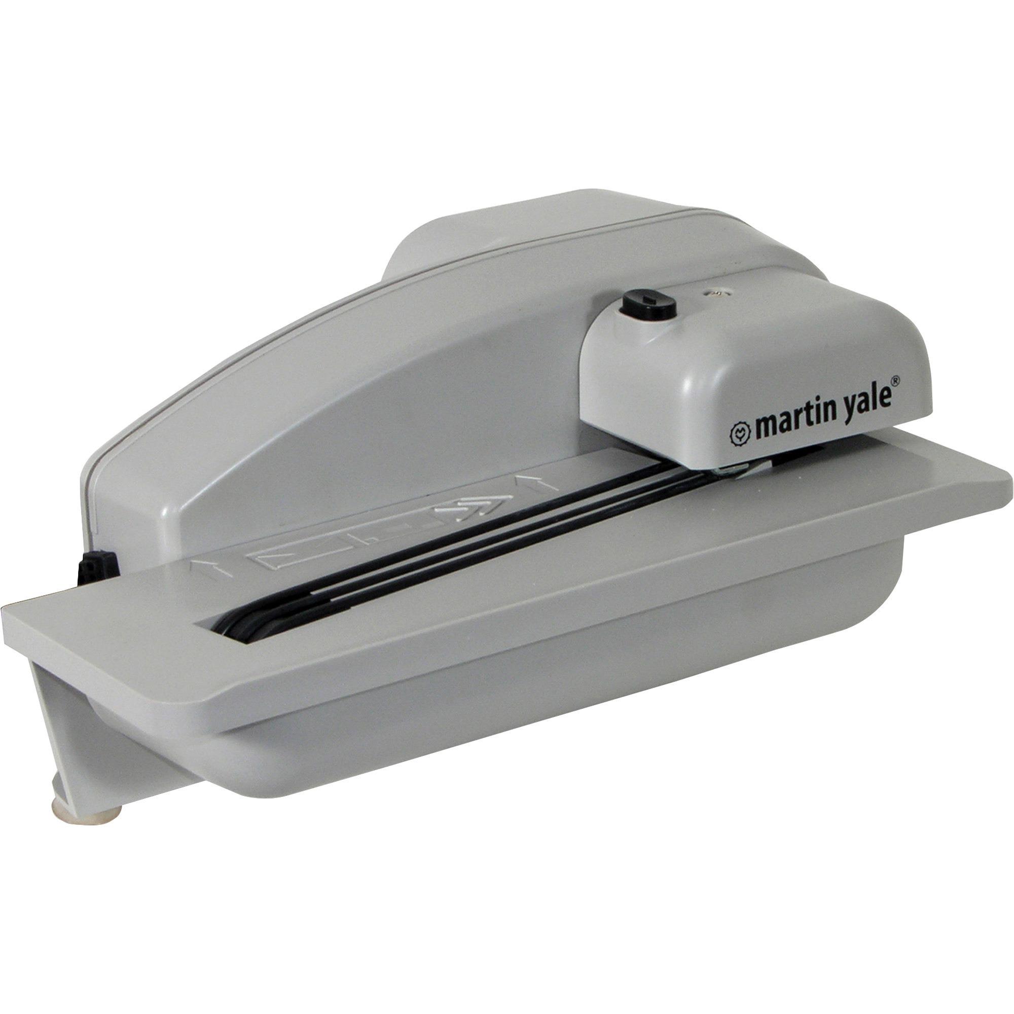 Martin yale premier automatic desktop letter opener pre1628 for Automatic electric letter opener