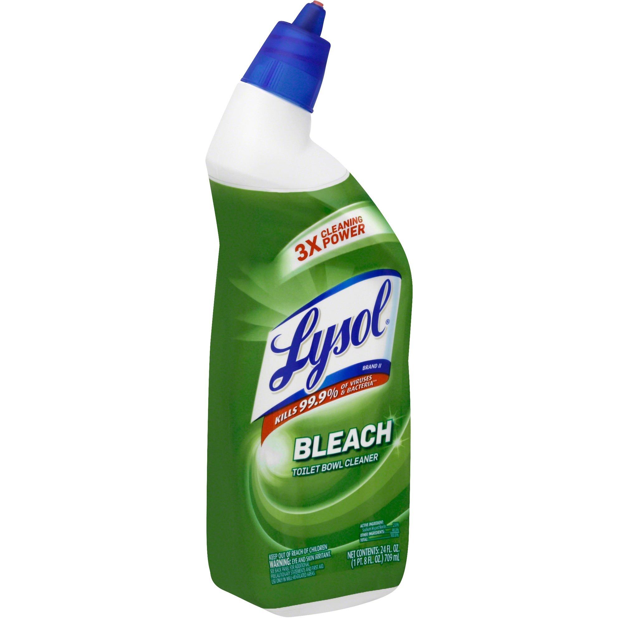 Lysol Toilet Bowl Cleaner Bleach Sds