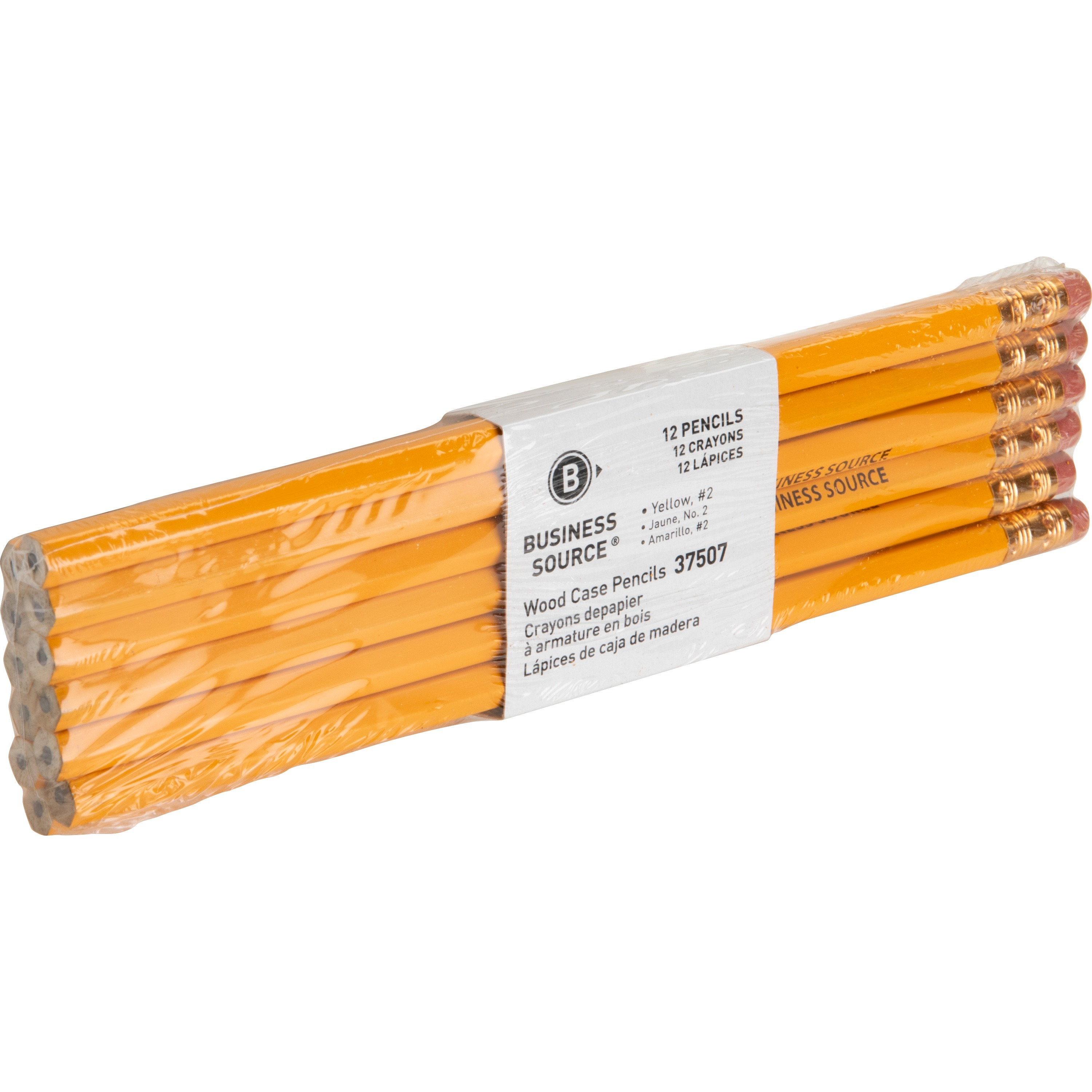 Business Source Woodcase Pencil
