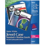 Avery CD Jewel Case Insert - 6693
