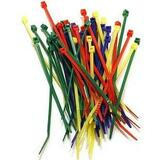 Belkin 7.5 Inch Multicolored Cable Ties 52 Pieces - F8E625C