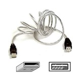 10FT USB AA EXTENSION FOR IMAC USBA-M/USBA-F CLEAR ICE