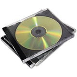 Fellowes CD Jewel Cases Black - 10 Pack