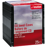 Imation Slim Design Media Storage CD Cases - 41017