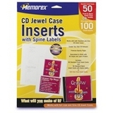 Memorex CD/DVD Case Insert - 00700