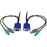 StarTech.com 10 ft 3-in-1 Universal Ultra Thin PS/2 KVM Cable PS23N1THIN10