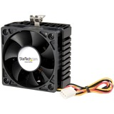 StarTech.com 65x60x45mm Socket 7/370 CPU Cooler Fan w/ Heatsink & TX3 connector FAN370PRO