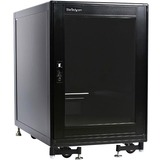 StarTech.com 15U 19 Black Server Rack Cabinet