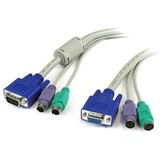 StarTech.com 6 ft 3-in-1 PS/2 KVM Extension Cable 3N1PS2EXT6