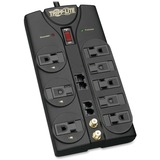 Tripp Lite Protect It! TLP810NET 8-Outlets Surge Suppressor