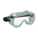 Acme Safety Chemical Splash Goggles - Polycarbonate Lens - 1 Each - Clear