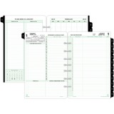 DAY-TIMER 2 Pages Daily Calendar Refill Pages - 92800
