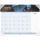 Visual Organizer Panoramic Motivational Desk Pad