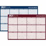 AAGA152 - At-A-Glance Horizontal Erasable Wall Calendars