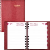 Rediform CB389C Daily Untimed Feint Ruled Planner