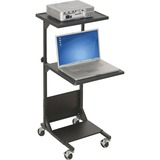 Balt PBL Audio and Video Cart - Black