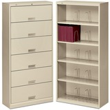 HON 600 Series Shelf Open File Cabinet 626N-L