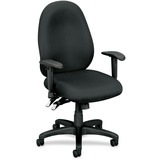 Basyx by HON VL630 Mid-Back High Performance Task Chair with Adjustable Arms VL630VA19