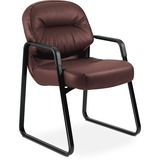 HON Pillow-Soft 2093 Executive Sled Based Guest Chair - 2093SR69T