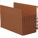 Smead 74795 Redrope Extra Wide End Tab TUFF Pocket File Pockets with Reinforced Tab 74795