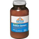 Elmer's 8 oz Bottle with Brush Rubber Cement
