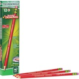 Dixon Ticonderoga Eraser Tipped Checking Pencils - Red Lead - 12 / Dozen