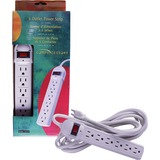 Compucessory CCS 55157 6 Outlets Power Strip - 55157