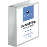 Sparco Slanted Ring Presentation Binder