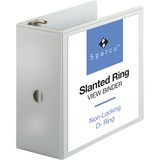 Sparco Slanted Ring Presentation Binder - 09901