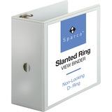 Sparco Slanted Ring Presentation Binder