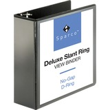 Sparco Deluxe Slant Ring View Binder