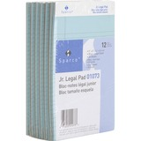 Sparco Colored Jr. Legal Ruled Writing Pads 01073