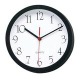 Lorell 8' Round Wall Clock - Analog - Quartz