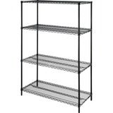 Lorell 4-Shelf Add-On Wire Shelving - 70061
