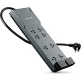 Belkin SurgeMaster Office 8-Outlets Surge Suppressor - BE10820006