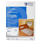 Elite Image White Mailing Laser Label