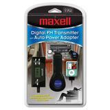 Maxell P-5A Digital FM Transmitter - 10 x FM Presets