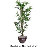 Nu-Dell Artificial Tree - 6ft Tall - Bamboo - Green