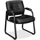 Basyx VL690 Series Leather Guest Chair