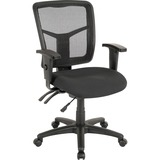 LLR86201 - Lorell 86000 Series Managerial Mid-Back Cha...