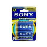 Sony STAMINA AM3PTB8A Platinum Alkaline AA Size General Purpose Battery