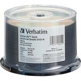Verbatim UltraLife 95355 DVD Recordable Media - DVD-R - 8x - 4.70 GB - 50 Pack Spindle 95355