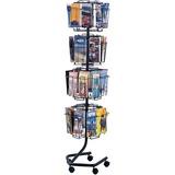 Safco Wire Rotary Brochure Rack 4128CH