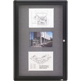 Quartet Radius Frame Indoor Bulletin Board