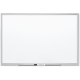 Quartet® Premium DuraMax Porcelain Magnetic Whiteboard, 6' x 4', Silver Aluminum Frame