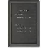 QRT2963LM - Quartet Single Glass Magnetic Message Board