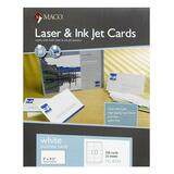 Maco Laser/Inkjet Business Card